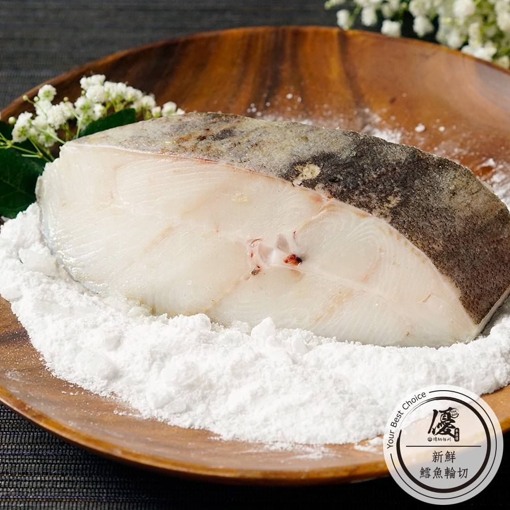 新鮮鱈魚輪切 (500g)份【水產優】