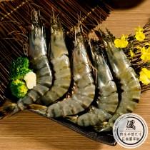 活力肥豬蝦_野生巨無霸草蝦(450g±5%/盒)【水產優】