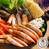 【網紅第一水產品牌】蝦兵蟹將2人泡麵組 5件免運蝦蟹超值組合 4人吃也滿足【水產優】(可選購日本進口火鍋料)